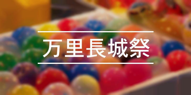 万里長城祭 2021年 [祭の日]