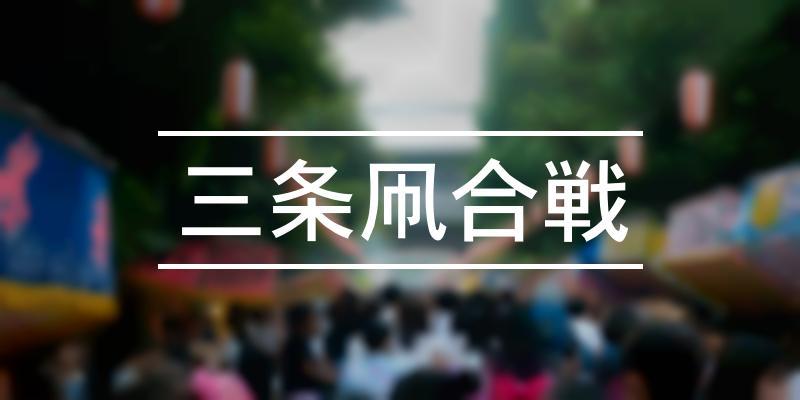 三条凧合戦 2021年 [祭の日]