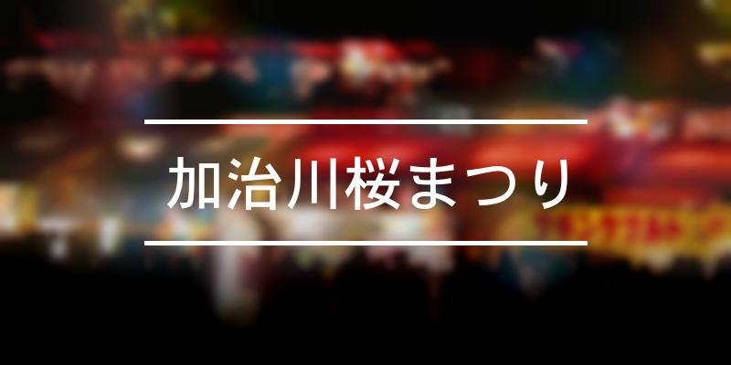 加治川桜まつり 2021年 [祭の日]
