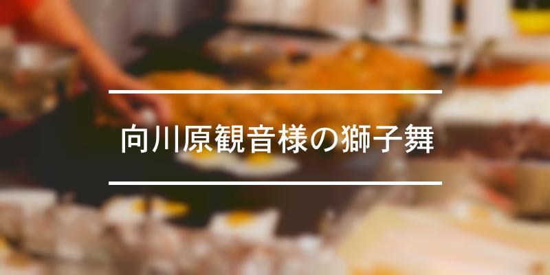 向川原観音様の獅子舞 2021年 [祭の日]