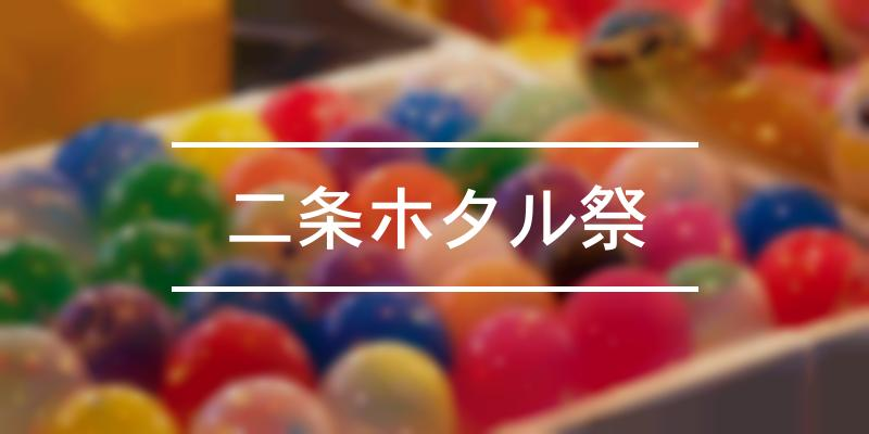 二条ホタル祭 2021年 [祭の日]