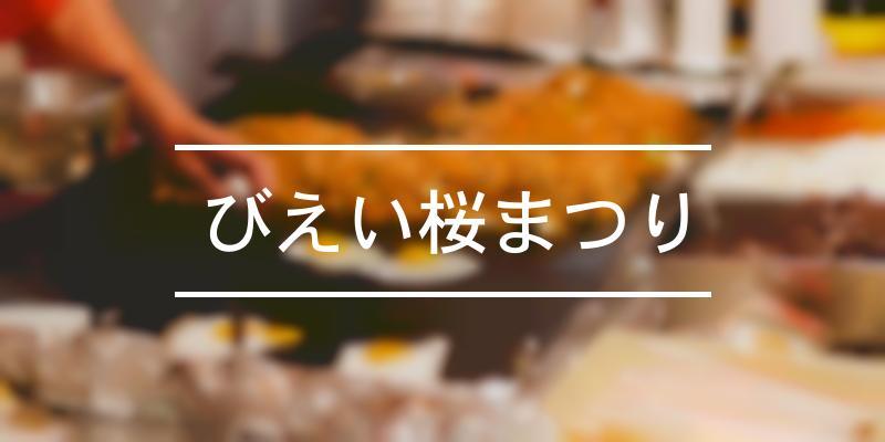 びえい桜まつり 2021年 [祭の日]