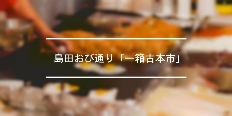 島田おび通り「一箱古本市」 2021年 [祭の日]