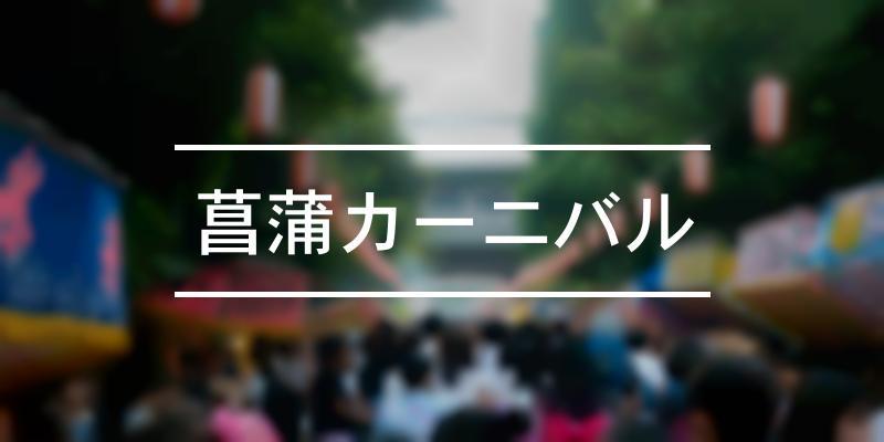 菖蒲カーニバル 2021年 [祭の日]