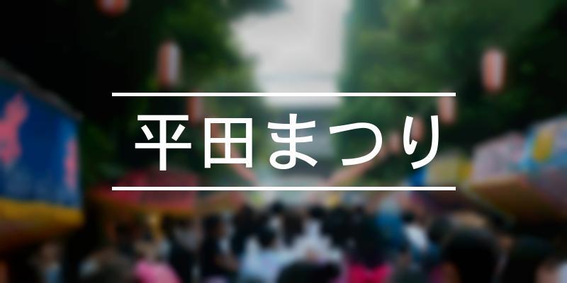 平田まつり 2021年 [祭の日]